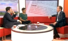 English Project Bill Lucas on BBC Breakfast